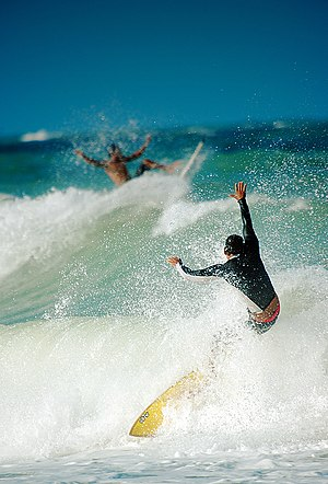 Fun - Surfers enjoying their sport