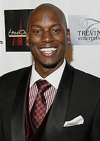 Tyrese Gibson American Grammy-nominated R&B singer-songwriter, actor, author, television producer, former fashion model and MTV VJ