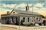 U.S. Post Office, Masontown, Pa (71385).jpg