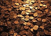 U.S. pennies, 2008.jpg