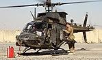 U.S Army OH-58D Kiowa Warrior Armed Reconnaissance Helicopter at Kandahar Airfield MOD 45162023.jpg