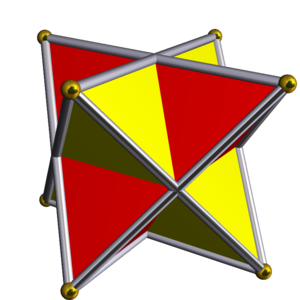 Uniform polyhedron compound - Image: UC04 2 tetrahedra