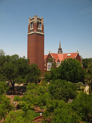 North Florida - Century Tower at the University of Florida in Gainesville