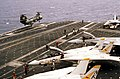 UH-46D landing on USS Constellation (CV-64) 1984.JPEG