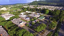 The UPR Humacao Campus aerial view.
