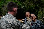 US, Japanese Airmen conduct survival training during Cope North 16 160216-F-CH060-468.jpg