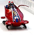 USA-1 in heat 3 of 2 woman bobsleigh at 2010 Winter Olympics 2010-02-24 2.jpg