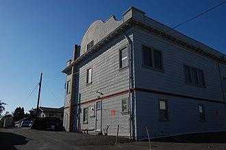 California Historical Landmarks in Solano County, California - Image: USA Benicia B. D. E. S. Hall 1
