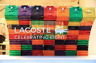 Lacoste - 5th Avenue, NYC, 2013