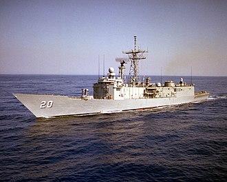 USS Antrim (FFG-20) - USS Antrim FFG-20