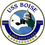 USS Boise SSN-764 Crest.png