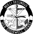 USS Cogswell (DD-651) insignia, circa in 1960.png