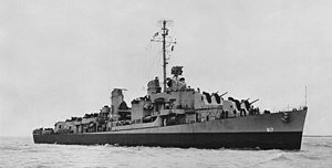 USS Corry (DD-817) - Image: USS Corry (DD 817) off Orange TX in 1946