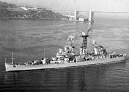 USS Galveston (CLG-3) in San Francisco Bay c1965