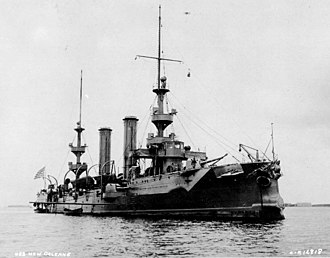 Fourth Battle of Topolobampo - USS New Orleans