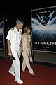 US Navy 050717-N-7281D-140 Commander, Naval Air Forces Pacific, Vice Adm. J. M. Zortman and his wife enter the base theatre on board Naval Air Station North Island prior to the Hollywood premiere screening of the major motion p.jpg
