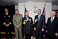 US Navy 070615-N-2468S-001 Commander, U.S. 7th Fleet, Vice Adm. Doug Crowder speaks during a reception aboard USS Blue Ridge (LCC 19). Blue Ridge, the U.S. Navy's 7th Fleet command ship, arrived in Sydney, Australia, June 14 fo.jpg