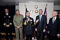 US Navy 070615-N-2468S-001 Commander, U.S. 7th Fleet, Vice Adm. Doug Crowder speaks during a reception aboard USS Blue Ridge (LCC 19). Blue Ridge, the U.S. Navy's 7th Fleet command ship, arrived in Sydney, Australia, June 14 fo.jpg