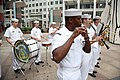 US Navy 080813-N-3271W-058 The U.S. Navy Band Great Lakes performs for a proclamation ceremony for Chicago Navy Week, attended by representatives from the office of the Illinois Governor and the Chicago mayor.jpg