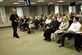 US Navy 090226-N-7676W-093 Deep-sea explorer and underwater archaeologist, Dr. Robert Ballard speaks to military and civilian personnel at the Office of Naval Research.jpg