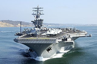 USS <i>Nimitz</i> Supercarrier of the United States Navy, lead ship of her class