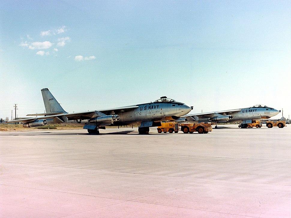 US Navy EB-47Es at Point Mugu in 1971.jpeg