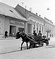 Ulica Hlavná (Fő utca) az ulica Rázusova torkolatával szemben. Fortepan 53928.jpg
