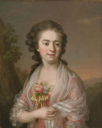 Ulrika Pasch - Selfportrait from c. 1770