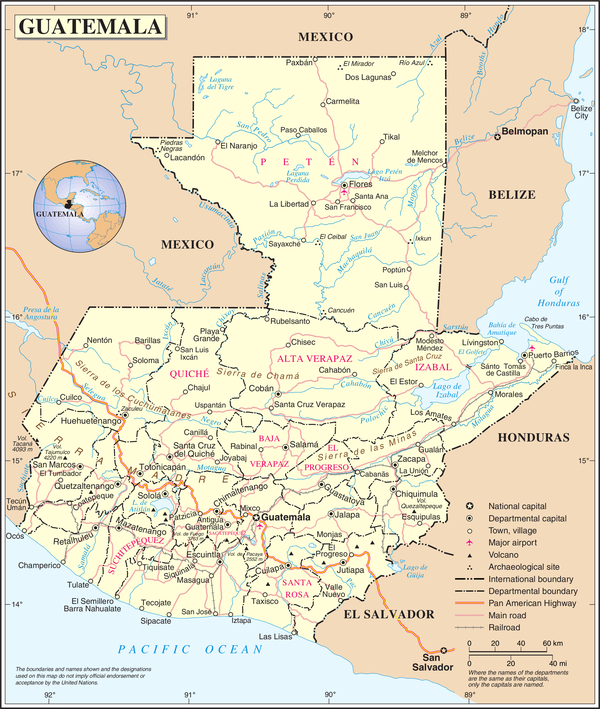 Geography of Guatemala Wikipedia