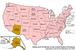 Territorial Evolution Of New Mexico Wikipedia - Us Map Territories