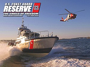 United States Coast Guard Reserve Desktop Wall...