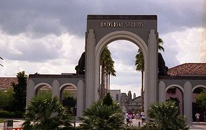 Entrance to Universal Orlando Resort