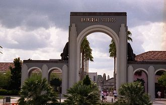Universal Studios Florida - The original entrance to the theme park.