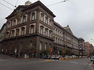 University of Naples Federico II - Main building, university of Naples, Federico II