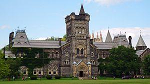 Education in Toronto - University College at the University of Toronto.