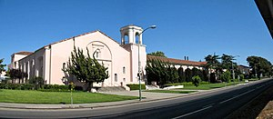 Oakland Technical High School - University High School, where Tech moved temporarily during retrofitting in the 1970s