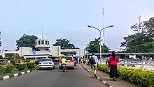 Photo Showing the Gate of University of Ibadan