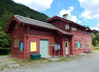 Urdland Station railway station in Voss, Norway