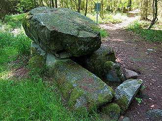 Simple dolmen - Simple dolmen near Grevesmühlen
