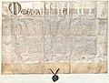 Urkunde Universität 1419.jpg