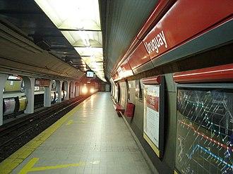Uruguay (Buenos Aires Underground) - Image: Uruguay (Subte de Buenos Aires)
