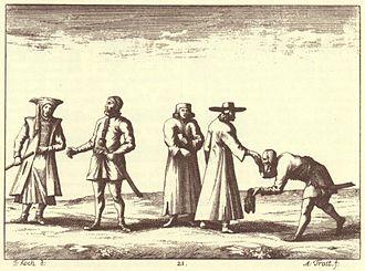Uskoks - Carniolan Uskoks in an engraving from Johann Weikhard von Valvasor's work The Glory of the Duchy of Carniola, 17th century.