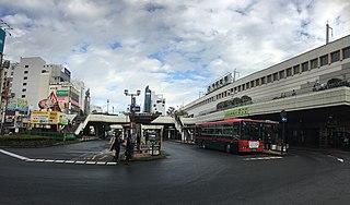 Utsunomiya Station Railway station in Utsunomiya, Tochigi Prefecture, Japan