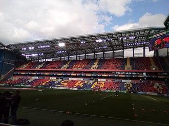 VEB Arena - VEB Arena inside