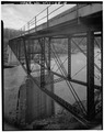 VIEW LOOKING SOUTHWEST, 3-4 ELEVATION - Main Channel Bridge, Spanning Clark Fork, Thompson Falls, Sanders County, MT HAER MONT,45-THOFA,2-8.tif
