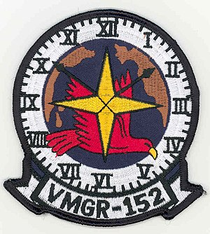 Aviation combat element - Image: VMGR 152patchscan