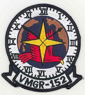 Aviation combat element - Image: VMGR 152patchscan