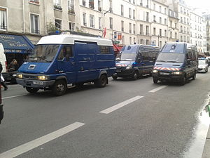 Mobile Gendarmerie - Mobile Gendarmerie vehicles