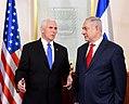 VP Pence meet with PM Netanyahu (24971623407).jpg