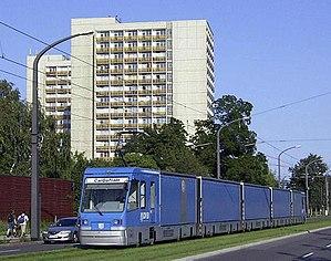 Transparent Factory - Image: VW Cargotram Dresden
